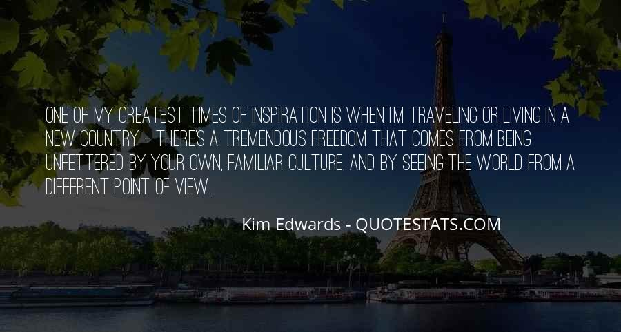Quotes About Traveling And Seeing The World #1122185