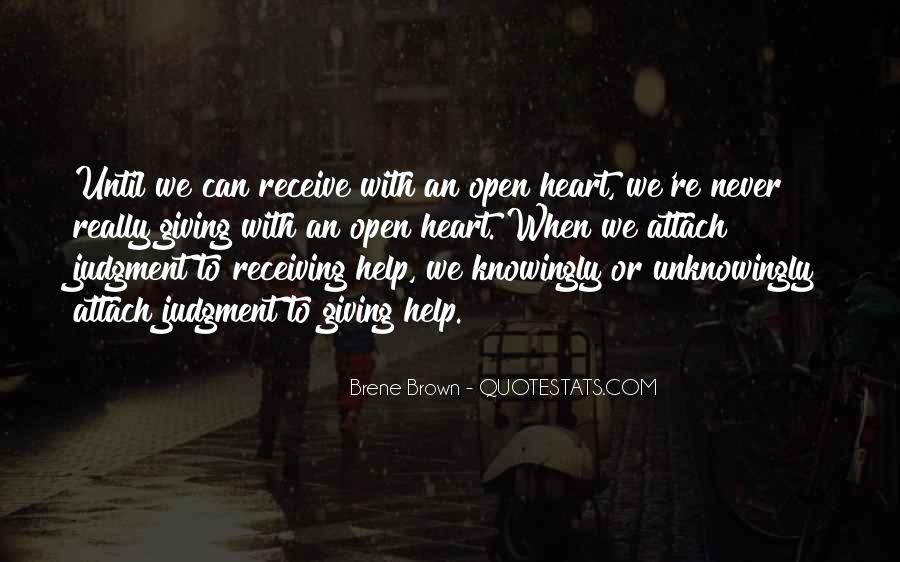 Quotes About Giving And Never Receiving #915483