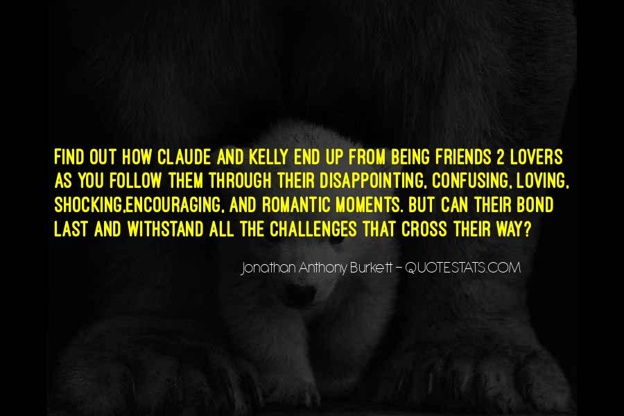 Quotes About Friends Lovers #316788