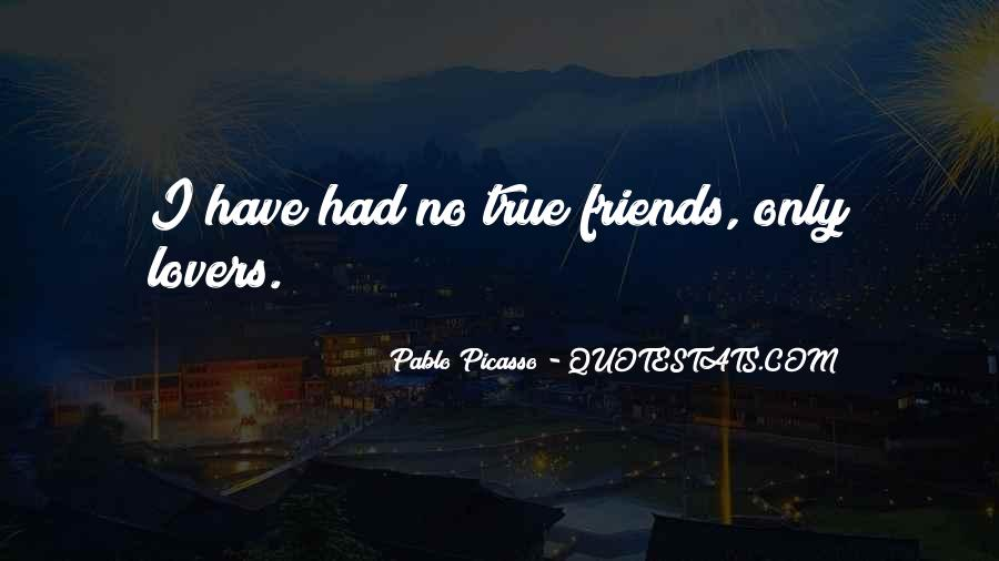 Quotes About Friends Lovers #467577