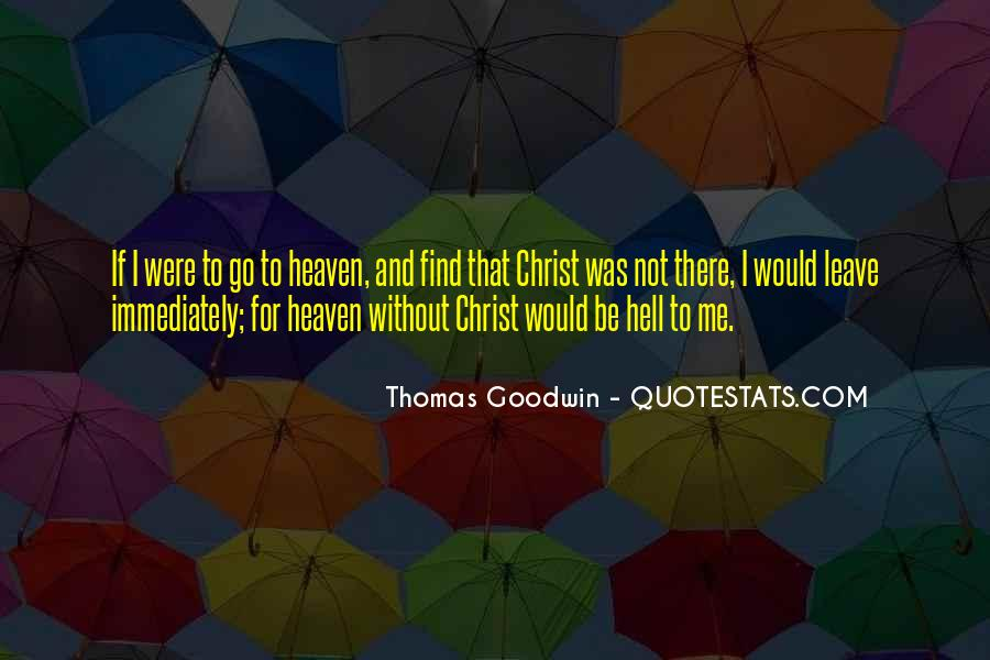 Quotes About Heaven And Hell #100630