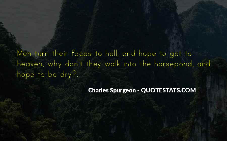 Quotes About Heaven And Hell #110706