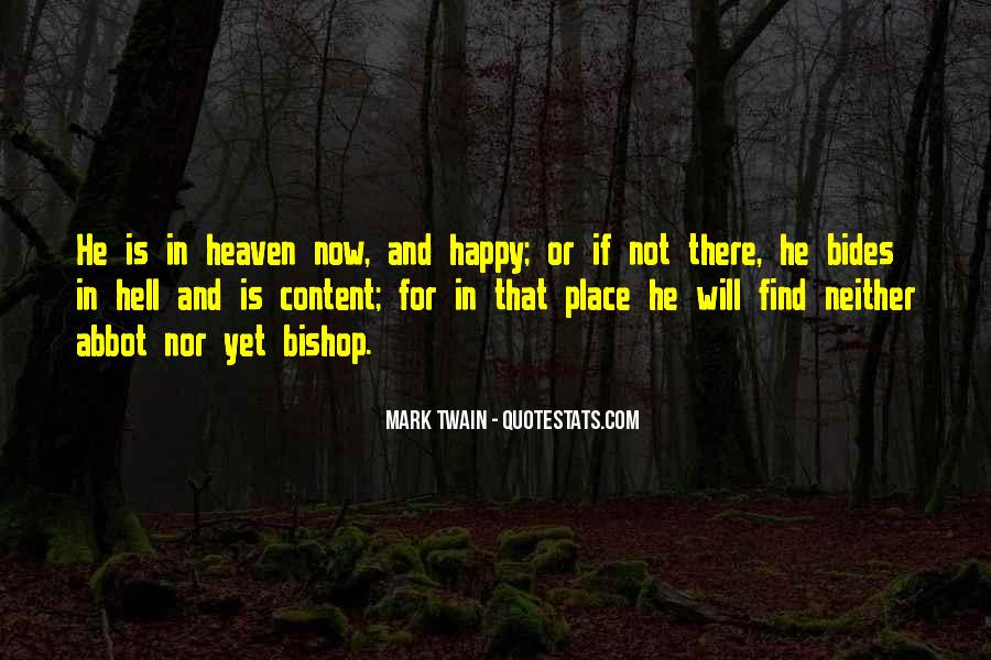 Quotes About Heaven And Hell #132448