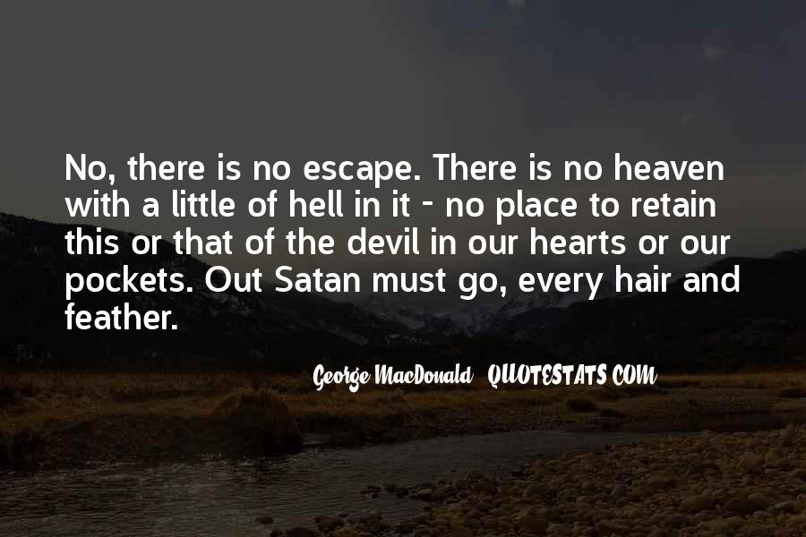 Quotes About Heaven And Hell #148489