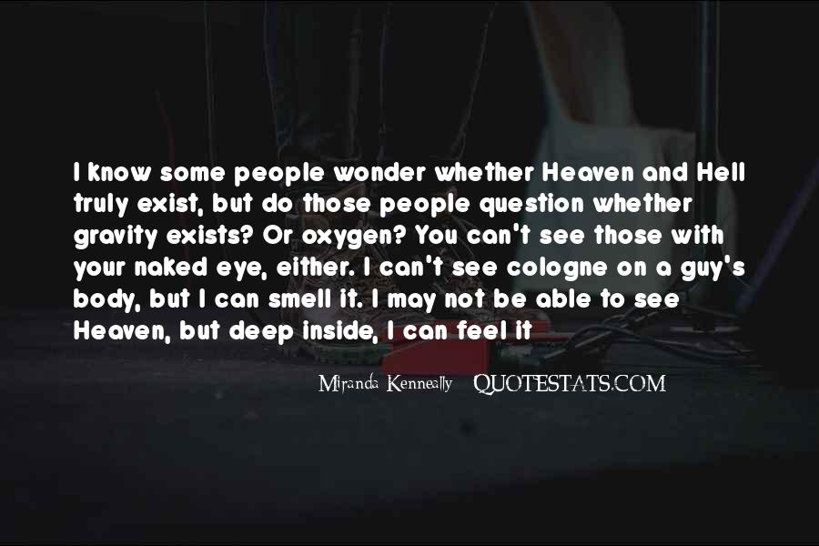 Quotes About Heaven And Hell #159135