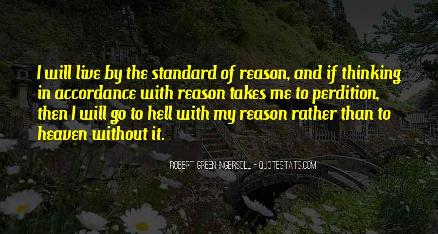 Quotes About Heaven And Hell #170460