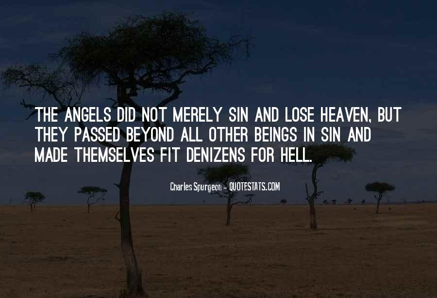 Quotes About Heaven And Hell #174811