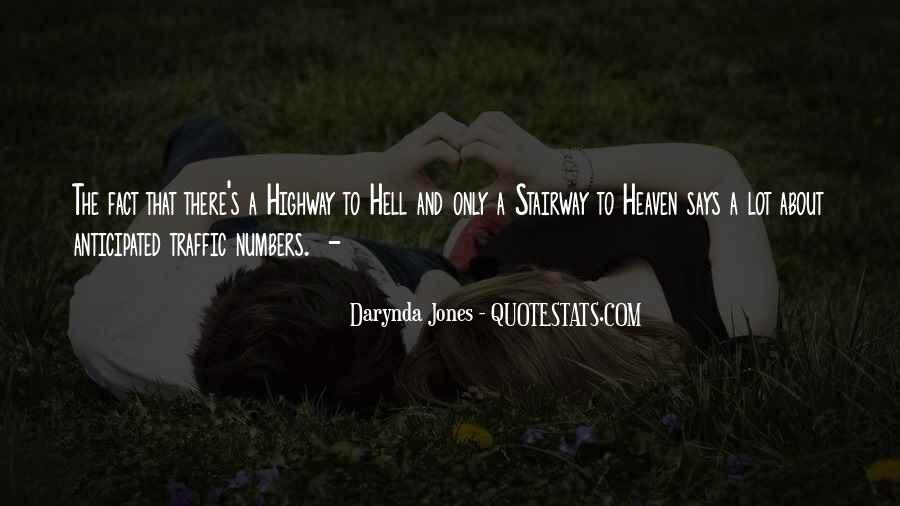 Quotes About Heaven And Hell #17659