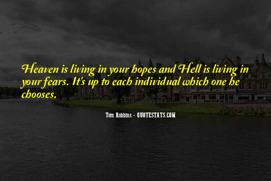 Quotes About Heaven And Hell #179156