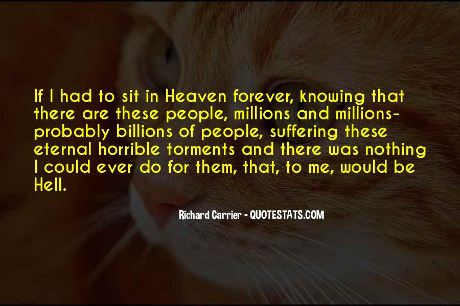 Quotes About Heaven And Hell #2138