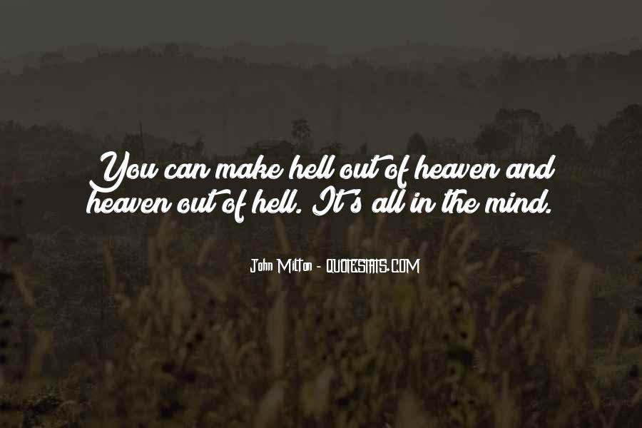 Quotes About Heaven And Hell #214101