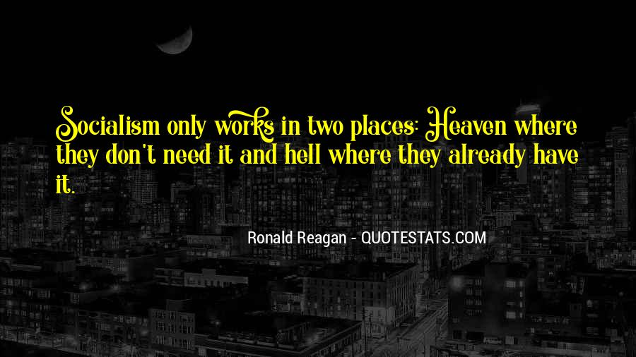 Quotes About Heaven And Hell #219088