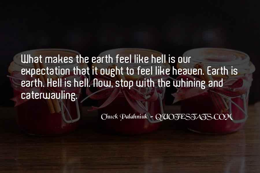 Quotes About Heaven And Hell #224581