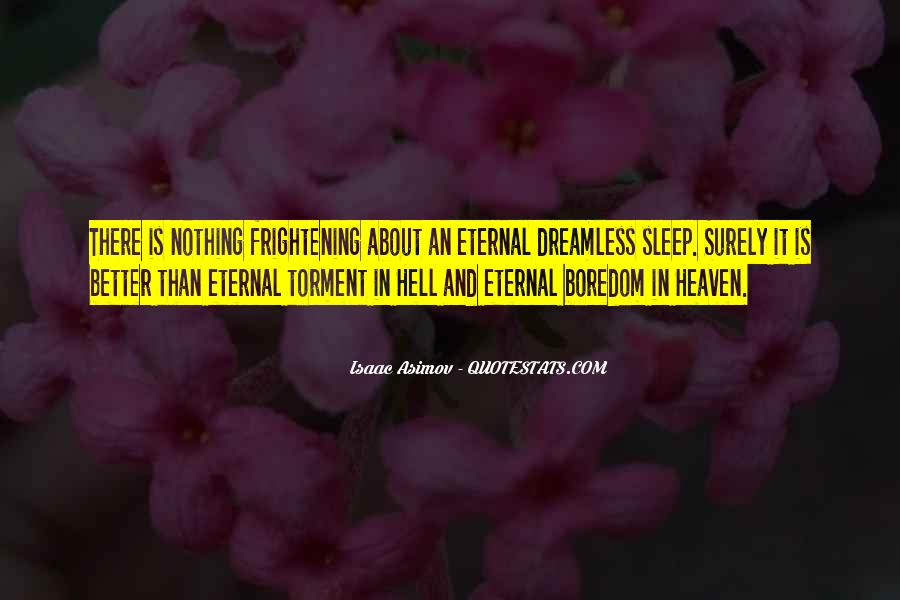 Quotes About Heaven And Hell #24062