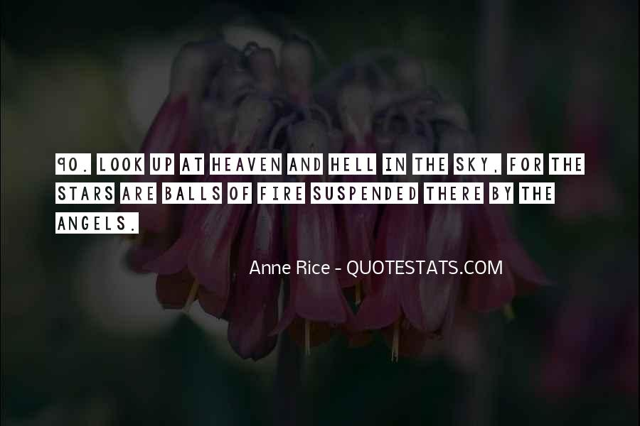 Quotes About Heaven And Hell #24807