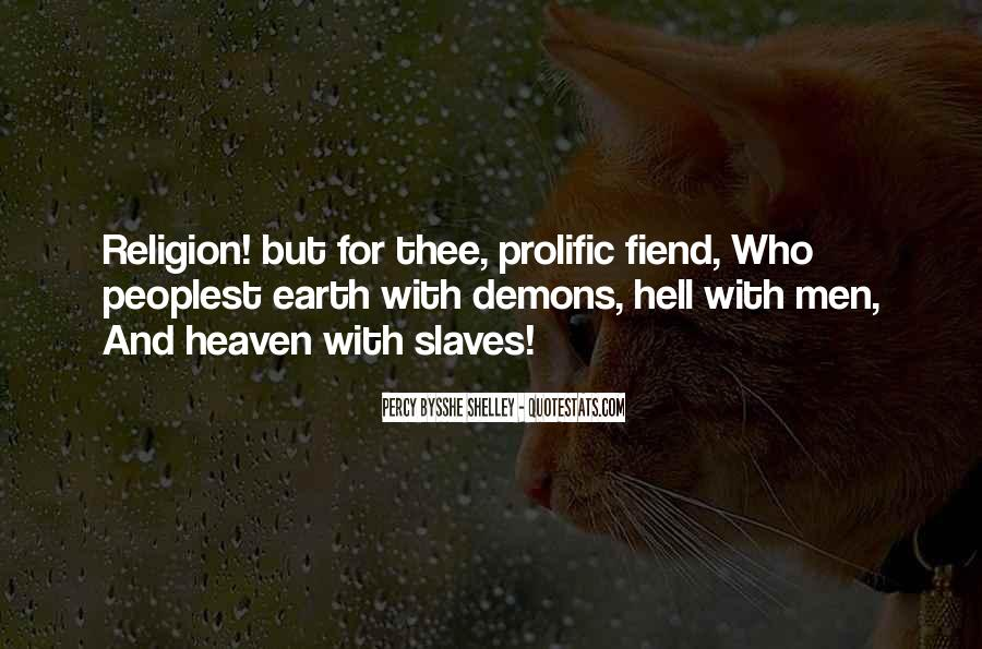 Quotes About Heaven And Hell #250287