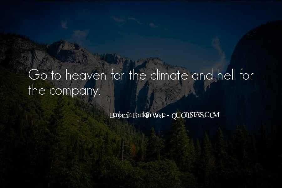 Quotes About Heaven And Hell #273679