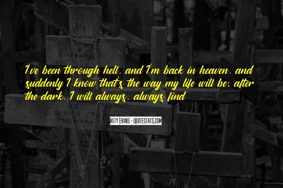 Quotes About Heaven And Hell #290020