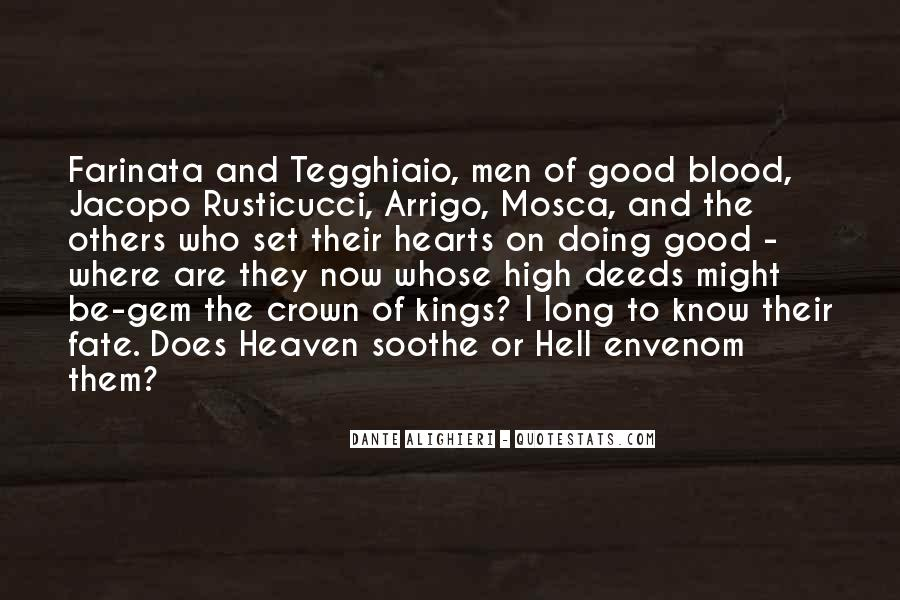 Quotes About Heaven And Hell #291855