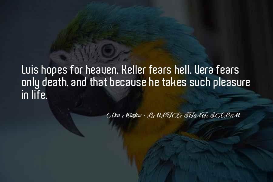 Quotes About Heaven And Hell #292821