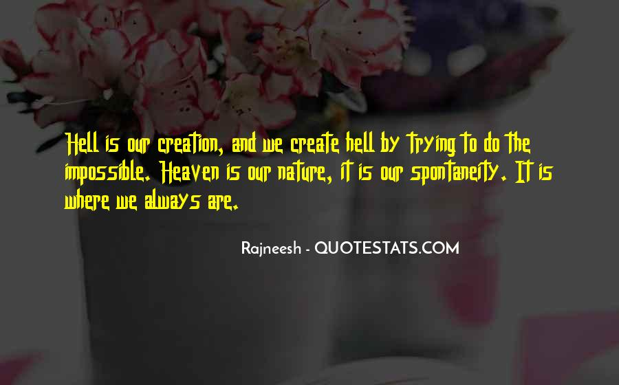 Quotes About Heaven And Hell #35792