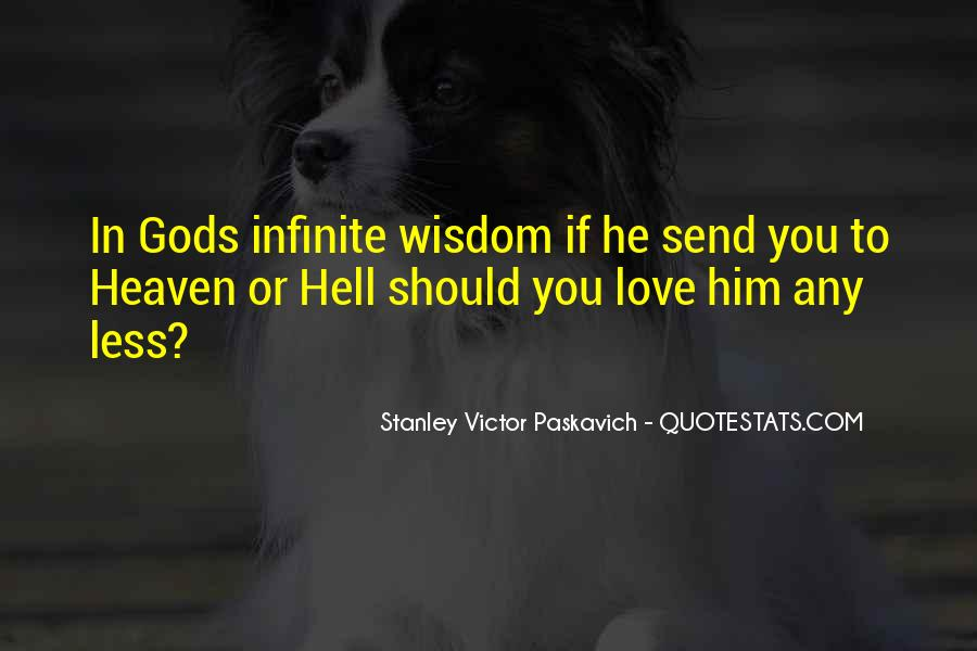 Quotes About Heaven And Hell #38476