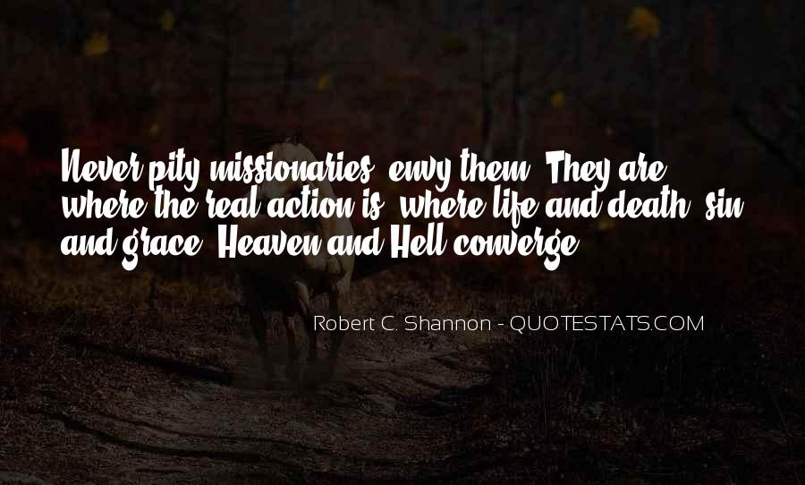 Quotes About Heaven And Hell #56805