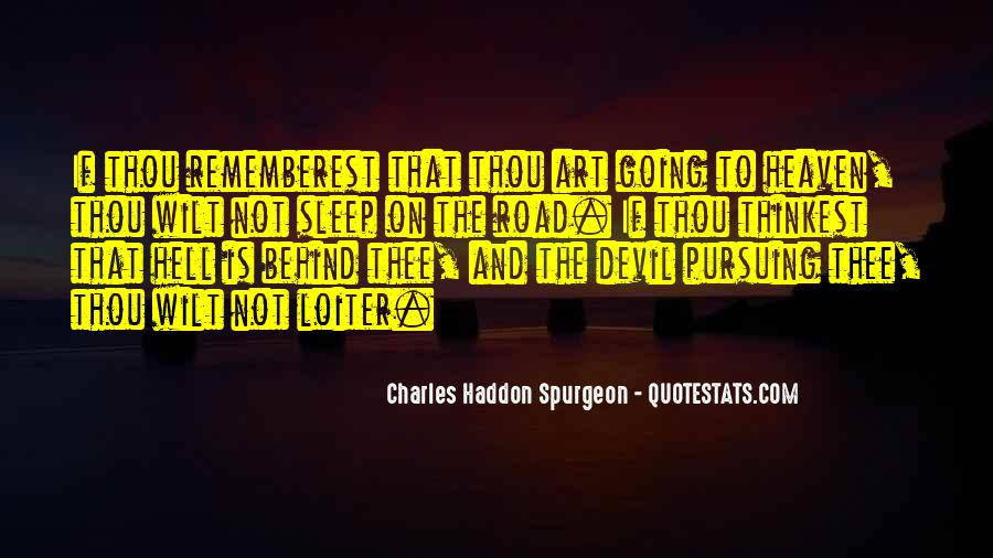 Quotes About Heaven And Hell #77878