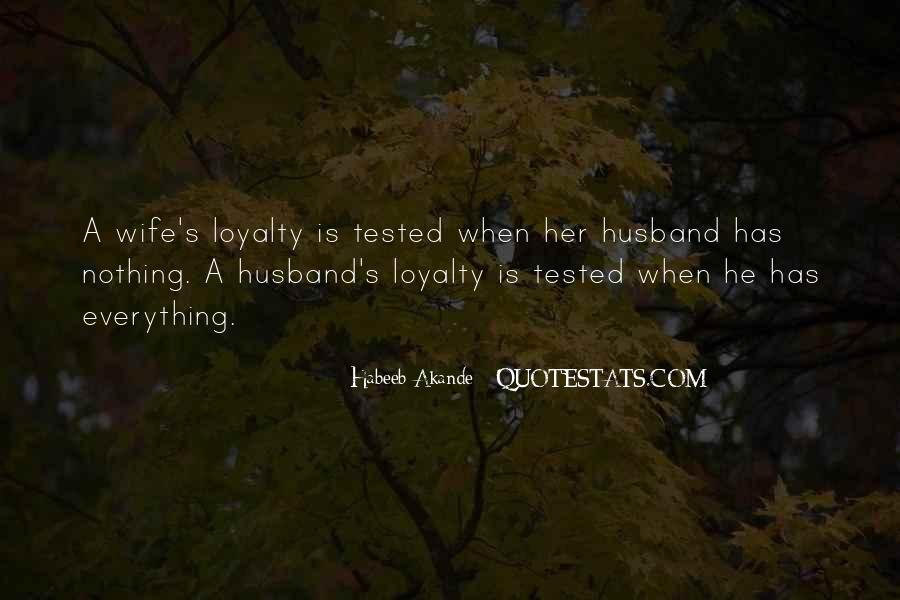 Quotes About Tested Relationships #309667