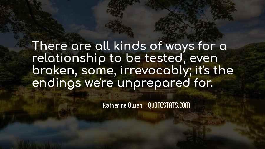 Quotes About Tested Relationships #404031