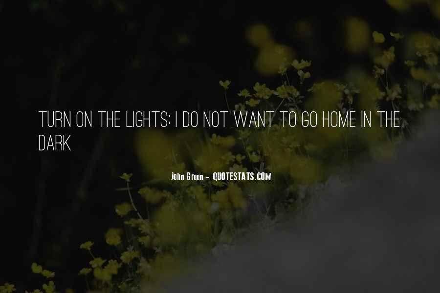 Quotes About Green Lights #194385