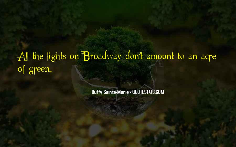 Quotes About Green Lights #581412