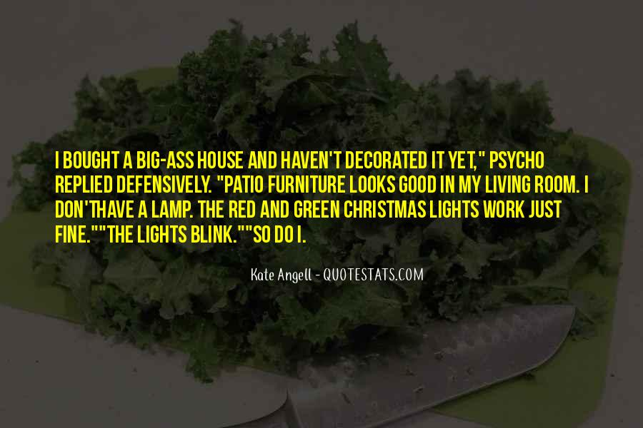 Quotes About Green Lights #684284
