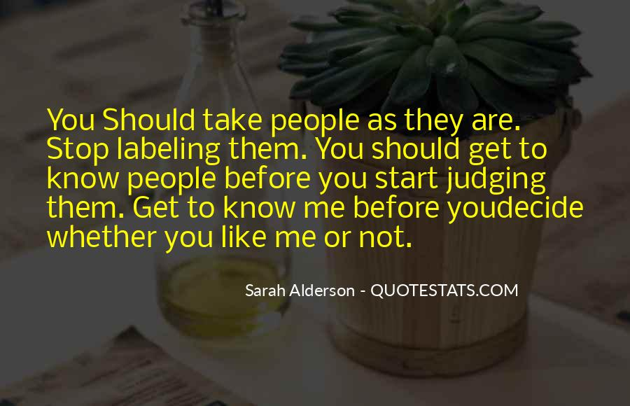 Quotes About You Know Me #11012