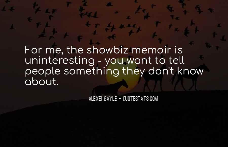Quotes About You Know Me #177