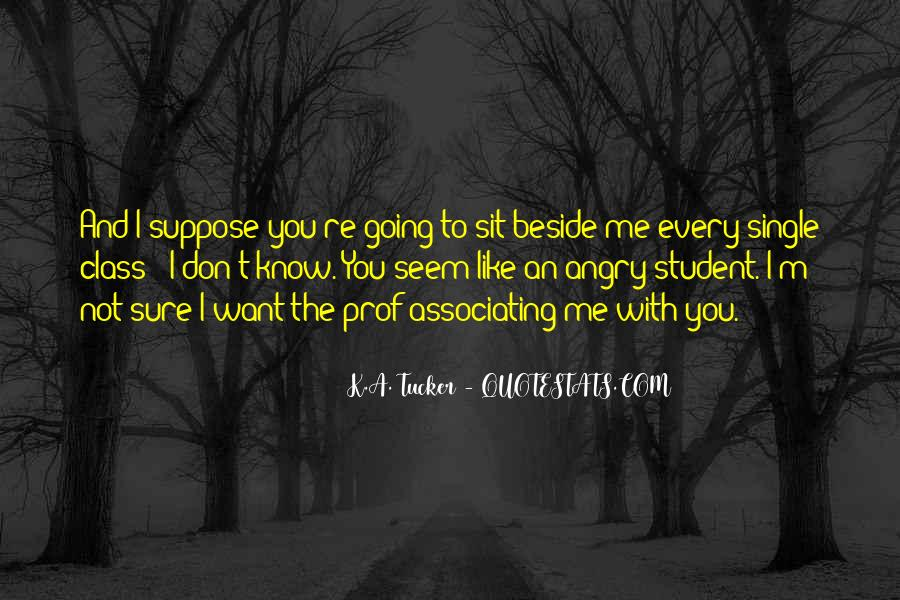Quotes About You Know Me #18714