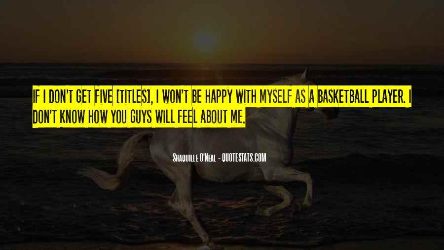 Quotes About You Know Me #4930