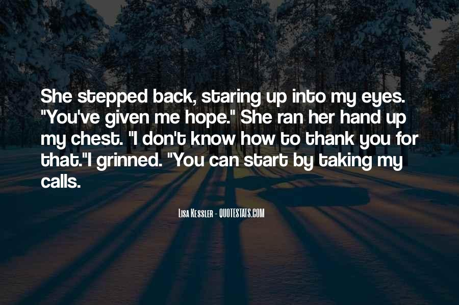 Quotes About You Know Me #6163