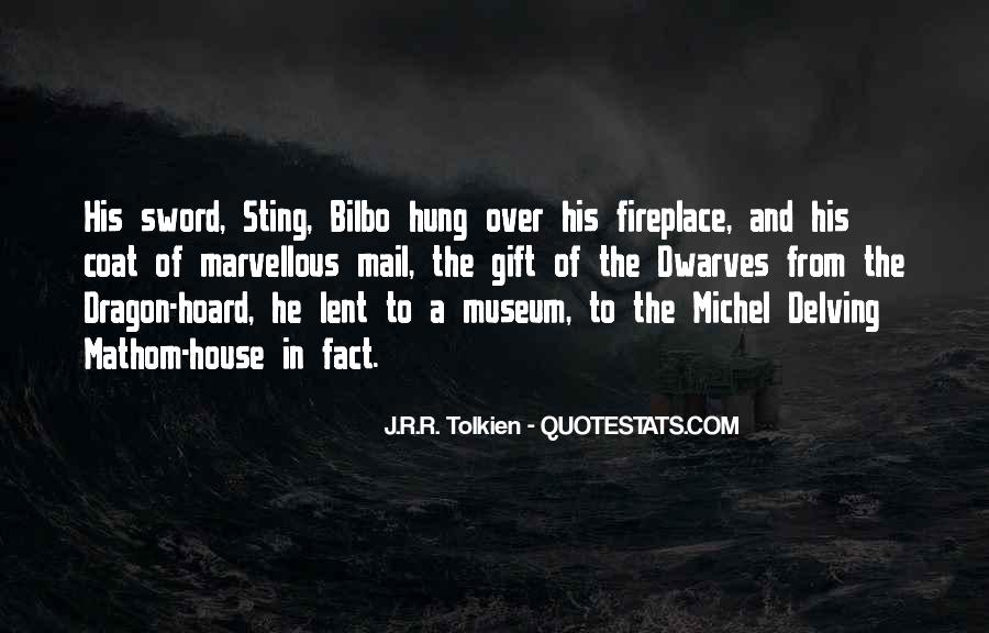 Quotes About Sting Sword #1168702