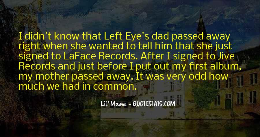 Quotes About A Mother That Has Passed Away #1643452