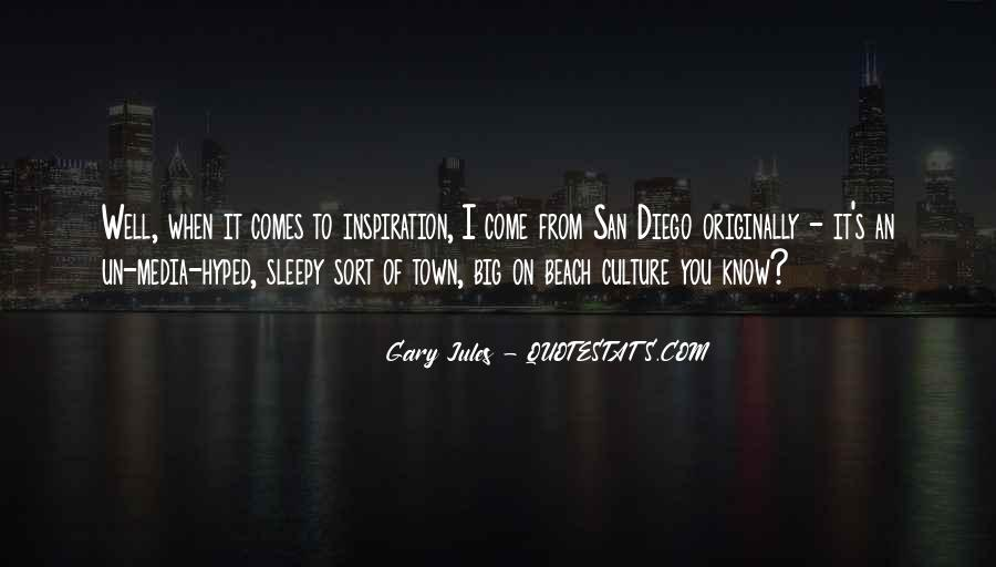 Quotes About San Diego #1331796