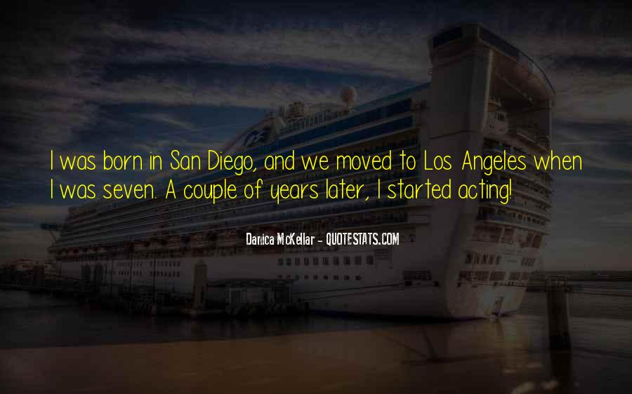 Quotes About San Diego #1612861