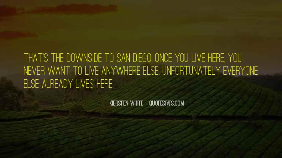 Quotes About San Diego #276553