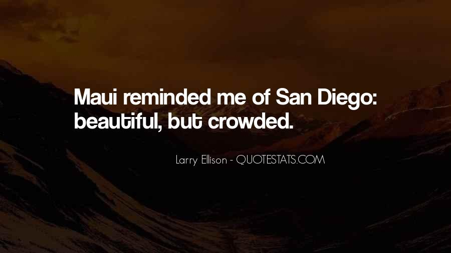 Quotes About San Diego #537232