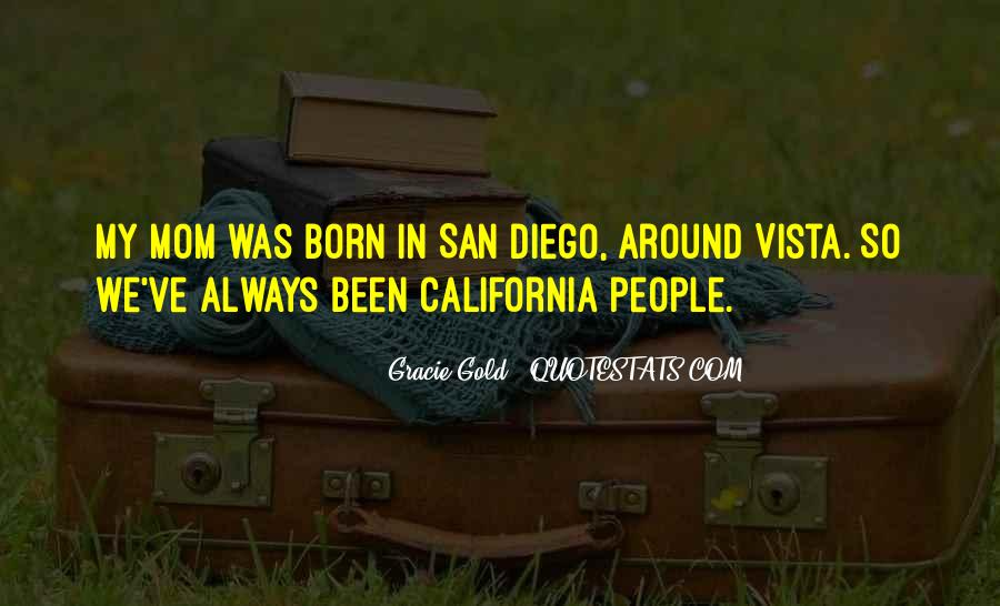 Quotes About San Diego #628379