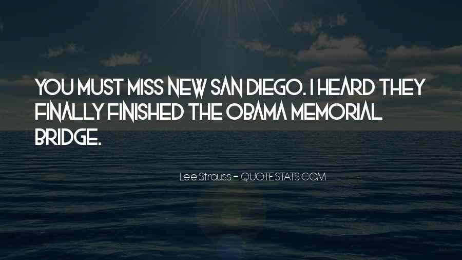 Quotes About San Diego #640688