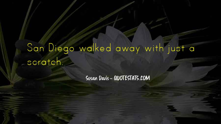Quotes About San Diego #823545