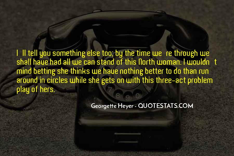 Quotes About Going Around In Circles #112569