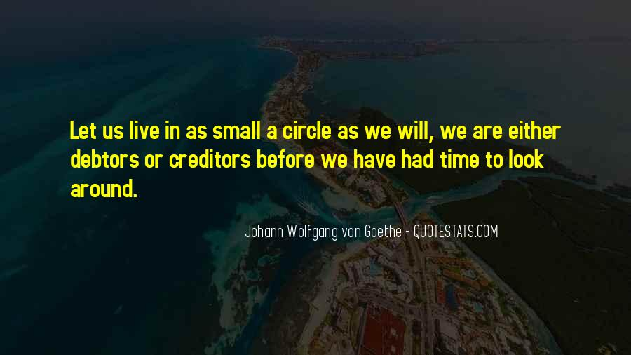 Quotes About Going Around In Circles #280549