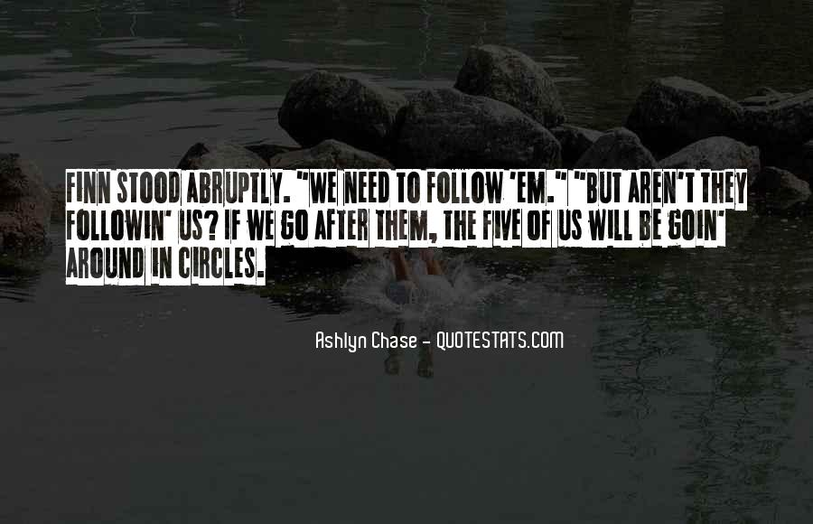 Quotes About Going Around In Circles #496586